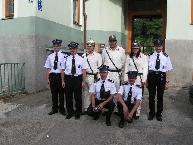 Na oslavy přijeli také hasiči z Polska