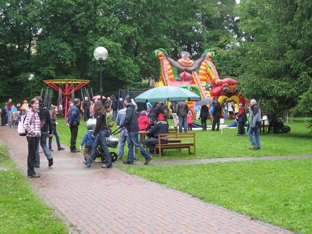 Dětský den v parku
