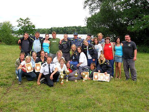 Společná fotografie předměřických hasičů